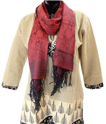Baba Handicrafts Graphic Print Cotton-Silk Women's Stole