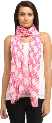 Needlecrest Checkered Cotton Voile Women's Scarf