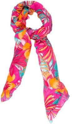 Amaryllis Floral Print Modal Women's Scarf
