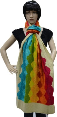 Portia Self Design Woollen Women's Stole