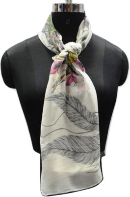PromotionalClub Printed 100% Viscose Women,s Scarf