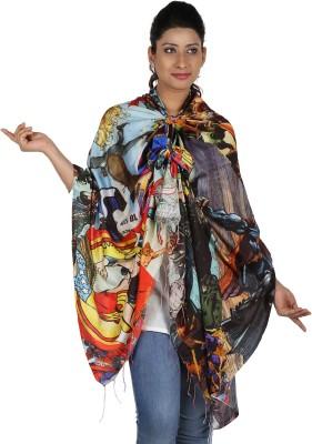Etoles Printed Cotton Chanderi Women's Scarf