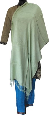 Baba Handicrafts Solid Pashmina Women's Stole