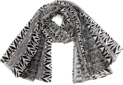 Zapia Graphic Print Polyester Women's Scarf