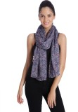 Only Solid 100%Polyester Women's Scarf