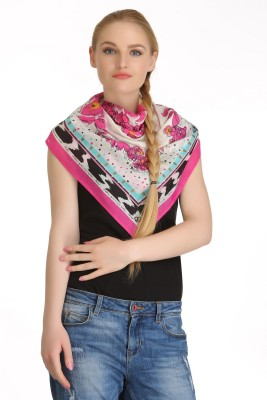 Cool Threads Floral Print 100% COTTON Women's Scarf