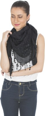 Scarves & Glitters Embroidered Lace Women's Scarf