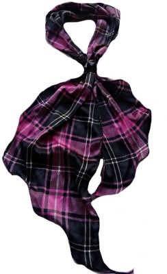 Reshu Checkered Crepe Women's Scarf