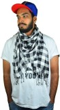X3 Checkered Cotton Men's Scarf