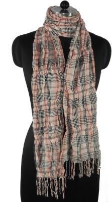 NEHANCHAL Checkered Viscose Women's Stole