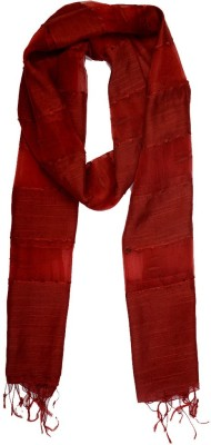 Add To Style Striped Nylon Women's Scarf