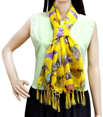 Lifestyle Retail Printed Cotton Voile Women's Scarf