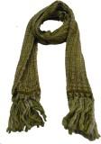 Lotusa Solid Woollen Men's Scarf