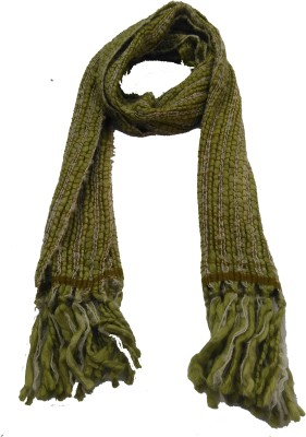 Lotusa Solid Woollen Men's Scarf