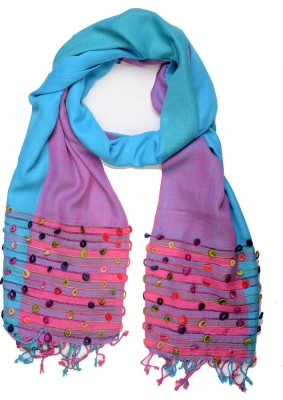 Add to Style Embroidered Viscose Women's Scarf