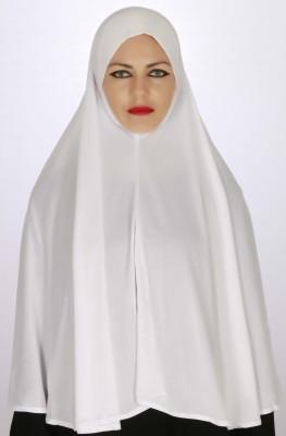 Islamic Attire Solid Lycra Women's Scarf