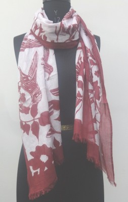 Add to Style Self Design 100% cotton Girl,s, Women's Scarf