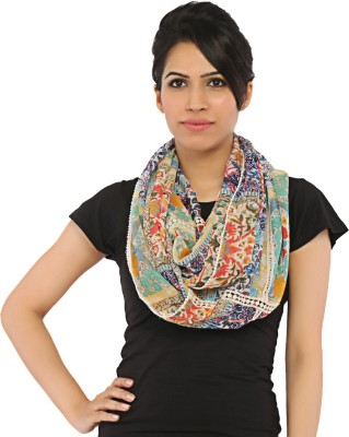 Isadora Floral Print Cotton Women's Scarf
