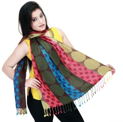 Ghasitaram Gifts Polka Print Cotton Women,s