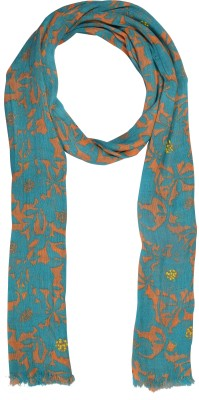 Knot Me Printed Linen Women's Scarf