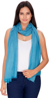 Anekaant Solid Viscose Wool Womens Stole