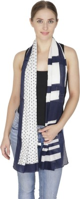 Citypret Printed Polyester Women's Scarf
