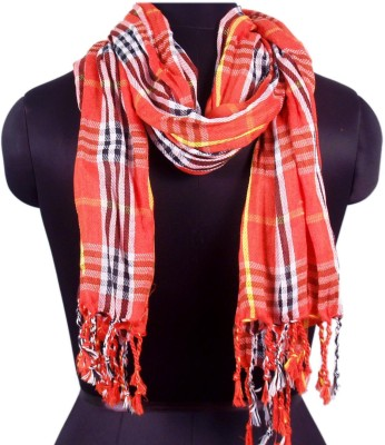 VR Designers Checkered Viscose Men's Scarf