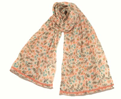 Amet And Ladoue Printed Slik Women's Scarf