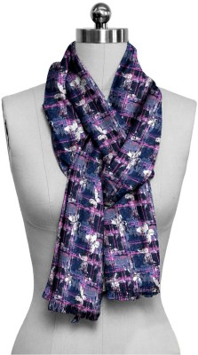 ScarfKing Checkered Polyester Women,s