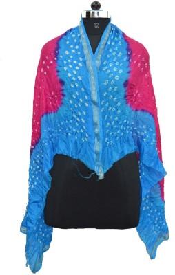 Pms Fashions Polka Print Taffeta Women's Scarf