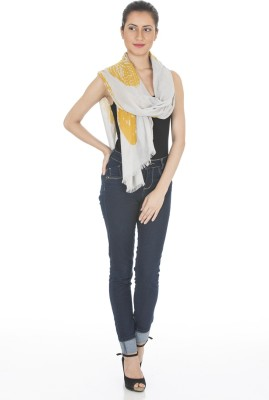 Scarves & Glitters Printed Cotton Women's Scarf
