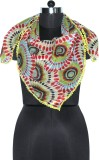 Uso Uno Printed Polyester Women's Scarf