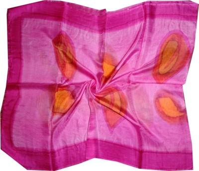 Dream Fashion Printed Pure Tabby Silk Women's Scarf