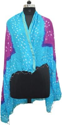 Pms Fashions Polka Print Taffeta Women's Stole