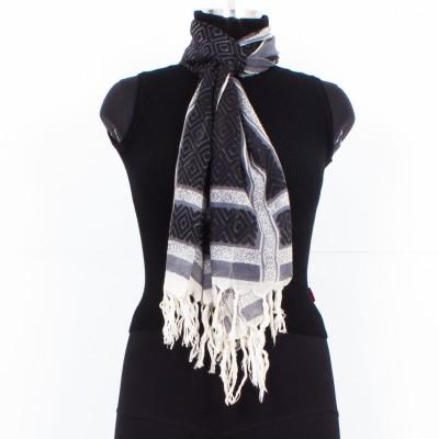 Trendif Printed Pure Wool Women's Scarf