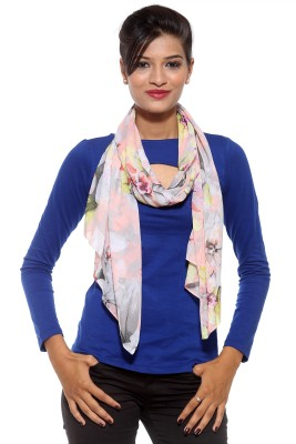 Covetindia Floral Print Cotton Women's Scarf