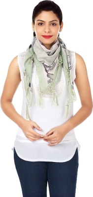 INSTINCT Printed Woven 100% Cotton Women's Scarf