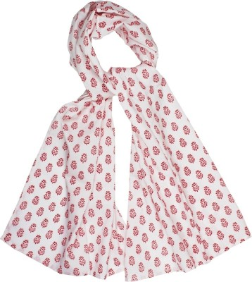 Hepburnette Printed Cotton Women's Scarf