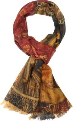 IR Acc Floral Print Wool Women's Scarf