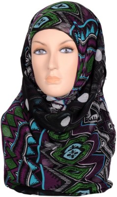 Scarves & Glitters Printed Silk Georgette Women's Scarf