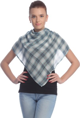 Cool Threads Checkered VISCOSE Women's Scarf