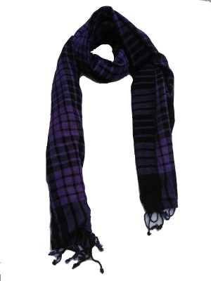 Lotusa Solid Viscose Men's Scarf