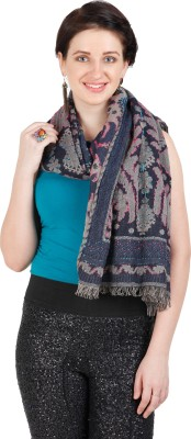 Shyam & Co. Of North Pvt. Ltd. Woven 75% Cotton 25% Wool Women's Scarf