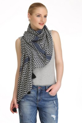 Cool Threads Striped POLYSTER Women's Scarf
