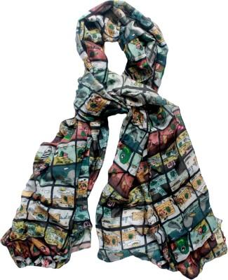 MAGA Printed Cotton Silk Women,s, Girl's Stole
