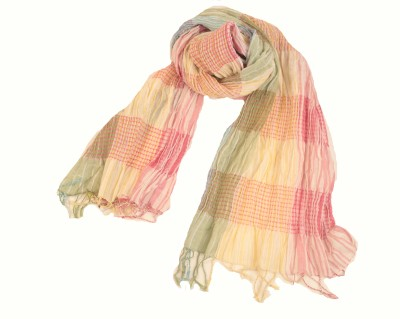 Amet And Ladoue Striped linen Women's Scarf