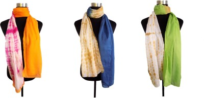 Shiborika Striped Cotton Women's Stole