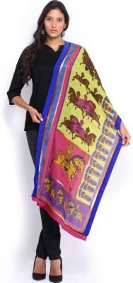 Mirage Printed Cotton, Silk Blend Women's Stole