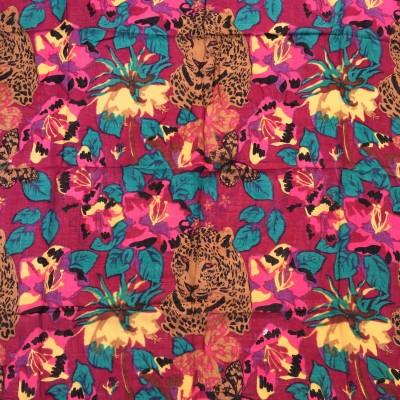 Jupi Floral Print Cotton Women's Scarf