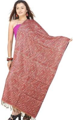 Little India Self Design Wool Women,s
